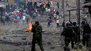Post-Election Violence in Kenya